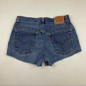 Vintage Levi's High Waist wedgie fit Jeans Shorts